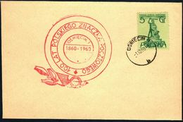 Poland 1960 Cancellation - 100 Years Of Polish Stamp 1860-1960 - Oswiecim 1 - 1944-.... Republic
