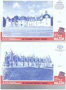 2 Buvard  Mazda  Tanlay  Et Josselin TANLAY JOSSELIN Chateau Buvards - Banca & Assicurazione