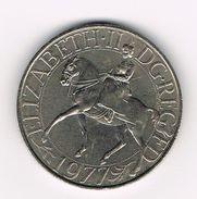 * GROOT BRITANNIE  25 NEW PENCE 1977 SILVER JUBILEE - 1971-… : Monedas Decimales