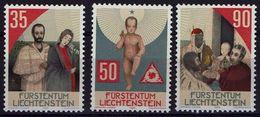 Liechtenstein 1988 - MiNr 954-956  Weihnachten - Hl. Maria Und Josef - Ungebraucht