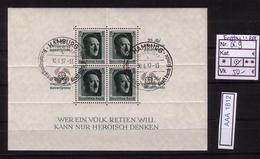 (aaa1812) DR Block 9 Mit Ersttagsstempel         ---SELTEN---  FDC Kat.250.-€ - Germany