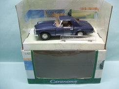 Cararama - MERCEDES BENZ 280SL Roadster Cabriolet Bleu BO 1/43 - Cararama (Oliex)