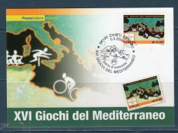 ITALIA 2009 -- XVI Giochi Del Mediterraneo  -- Cartolina Maximum -- - Maximum Cards