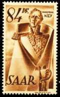 SAARLAND 1947 Nr 224Z Postfrisch X5FE2BA - Unused Stamps