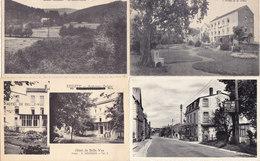 Erezée - Lot De 10 Cartes (Moulin Durdu, Hôtel Belle-Vue, La Clairière...) - Erezée