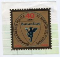 Simil Francobollo BUTANGAS 40 ANNI 1948 1988, Energia Pulita Al Servizio Dell'Utente - PERFETTO N45 - Vecchi Documenti
