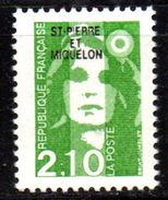 SPM Saint Pierre Et Miquelon  N° 517 Neuf  XX MNH  Luxe  Cote Y&T  1,10  €uro - St.Pierre & Miquelon