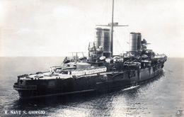 REGIA NAVE - SAN GIORGIO - NON VIAGGIATA - Warships