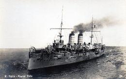 REGIA NAVE - MARCO POLO - NON VIAGGIATA - Warships
