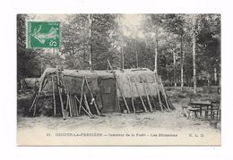 CPA 77 OZOIR LA FERRIERE Intérieur De La Forêt Les Bûcherons - Francia