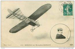 Morane Sur Monoplan Blériot - Aviateurs