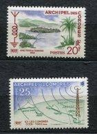 3005  - COMORES  N°17/8** Inauguration De La Radiodiffusion Dans L'archipel.      SUPERBE - Comores (1975-...)