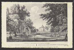 D 75 - ENVIRONS DE L'ANCIEN PARIS - 501 - Le Parc Et Le Château De La Malmaison Vers 1806 - France