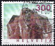 Switzerland 2003 - Mineral : Rutilated Quartz ( Mi 1844 - YT 1776 ) - Oblitérés