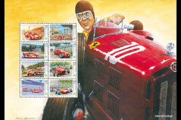 Luxembourg 2017 Miniature Sheet - Vintage Racing Cars - Unclassified
