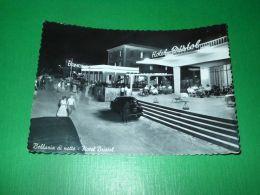 Cartolina Bellaria Di Notte - Hotel Bristol 1958 - Rimini
