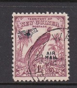 New Guinea SG 192 1932 Raggiana Bird No Date Air Mail One And Half  Penny Claret Used - Papua New Guinea