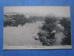64-USTARITZ La Nive , écrite Au Verso Et Circulée En 1916 - France