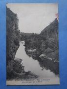 64-ITXASSOU Pas De Roland , Les Gorges De La Nive , Circulée En 1921 , Dos Vert , 2 Scans - Itxassou