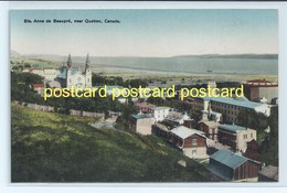 STE. ANNE DE BEAUPRE, NEAR QUEBEC, CANADA. OLD POSTCARD  C.1910 #489. - Ste. Anne De Beaupré