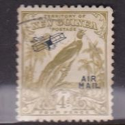 New Guinea SG 195 1932 Raggiana Bird No Date Air Mail 4d Olive-Green Used - Papua New Guinea
