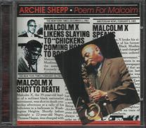 CD: Archie Shepp, Poem For Malcolm (1969) - Jazz
