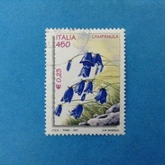 2001 ITALIA FRANCOBOLLO USATO STAMP USED - FLORA E FAUNA CAMPANULA 0,23 - - 6. 1946-.. Repubblica