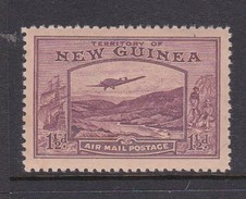 New Guinea SG 214 1939 Bulolo Goldfields One And Half Penny Claret Mint Never Hinged - Papua New Guinea