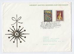 1977 AUSTRIA CRISTKINDL EVENT COVER Stamps Christmas Religion - Christmas