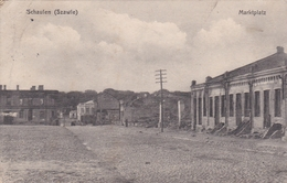 Schaulen Szawie Marktplatz 1916 - Litauen