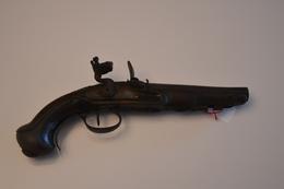 Pistolet Militaire Français Silex 1ER Empire - Armes Neutralisées