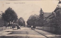 Parchim Friedrich Franz Strasse Feldpostkarte 1916 - Parchim