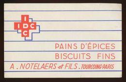 Buvard -  IDC - Pains D'epice Biscuits Fins - Buvards, Protège-cahiers Illustrés