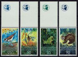 Liechtenstein 1989 - MiNr 967-970  WWF - Neufs