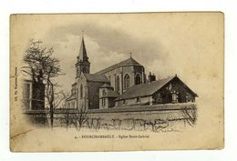 Cpa N° 4 FOURCHAMBAULT Eglise Saint Gabriel - France