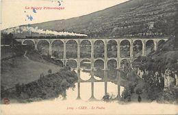 - Dpts Div.-ref-PP337- Ain - Cize Bolozon - Viaduc - Viaducs - Train - Trains - Ligne De Chemin De Fer - - Other Municipalities