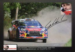 Sebastian Loeb Events  - Carte Promo - Rally Racing