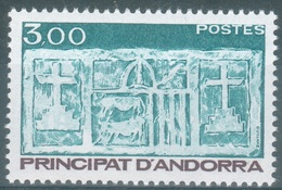 Andorra (French Adm.), Primitive écu Of The Valleys, 3f., 1984, MNH VF - Unused Stamps