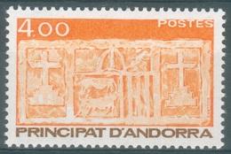 Andorra (French Adm.), Primitive écu Of The Valleys, 4f., 1986, MNH VF - Unused Stamps