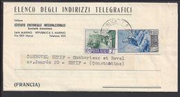 "SAINT-MARIN - 1951 - "" Istituto Editoriale Internazionale San-Marino "" Bureau De Propagande - Offre Publicitaire - TB - - Saint-Marin"