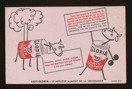 Buvard - LAIT CONCENTRE GLORIA - Buvards, Protège-cahiers Illustrés