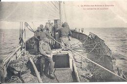 GRANVILLE La Pêche Aux Huitres La Manoeuvre Du Moulinet Photo Puel N° 4 - Granville