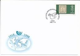 SC Lithuanian Post 80th Anniversary - 16 November 1998 Utena - Lithuania