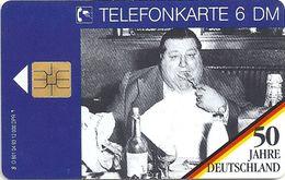 Germany - 50 Jahre Deutschland  - O 0801 - 04.93, 6DM, 12.000ex, Used - O-Serie : Serie Clienti Esclusi Dal Servizio Delle Collezioni