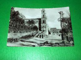 Cartolina Piana Di Caiazzo ( Caserta ) - Piazza Vittorio Emanuele 1955 Ca - Caserta