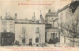 SAINT DIE RUE DU 10e BATAILLON  LA GUERRE DE 14-15 DANS LES VOSGES - Saint Die