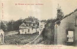 SAINT DIE  MAISON TRIMBACH  LA GUERRE DE 14-15 DANS LES VOSGES - Saint Die