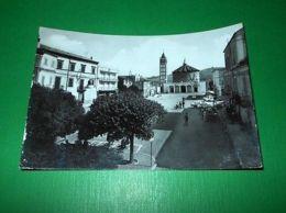 Cartolina Sant'Egidio Alla Vibrata - Piazza Del Sacro Cuore 1967 - Teramo