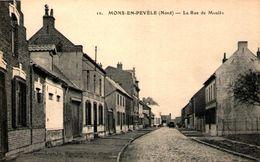 MONS-en-PEVELE - La Rue Du Moulin - France