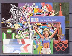 Tchad 1984 Mi Blok 107 A ; Olympische Spelen Postfris - Zomer 1984: Los Angeles